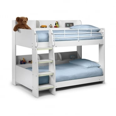 Domino 3ft All White Bunk Bed
