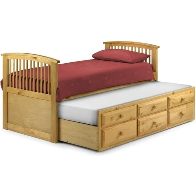 Julian Bowen Hornblower 3ft Pine Cabin Bed