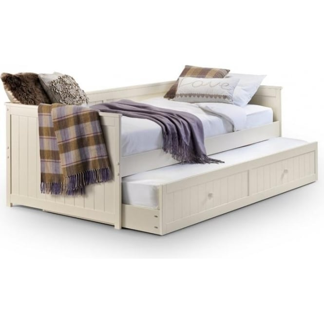 Julian Bowen Jessica 3ft Single Stone White Day Bed