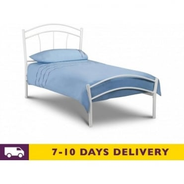 4ft6 Miah Double Metal Bed