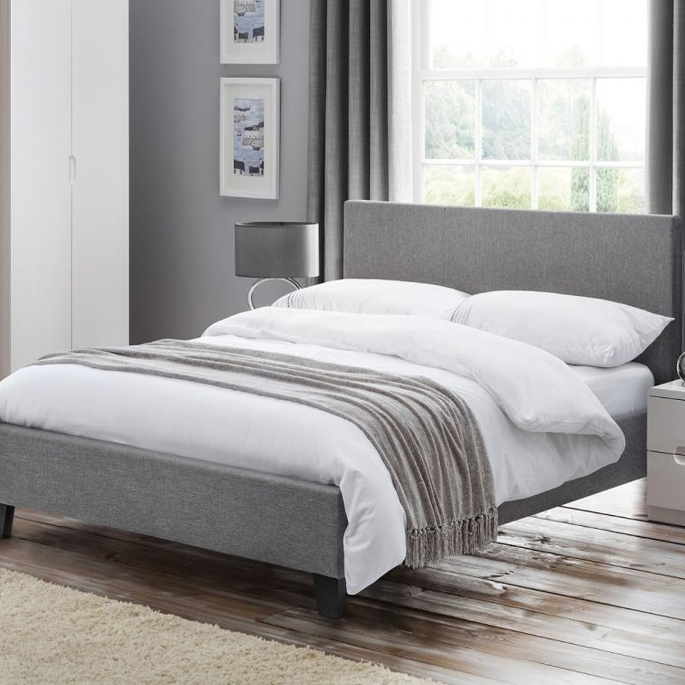 Julian Bowen|Rialto Fabric King Size Bed RIA103