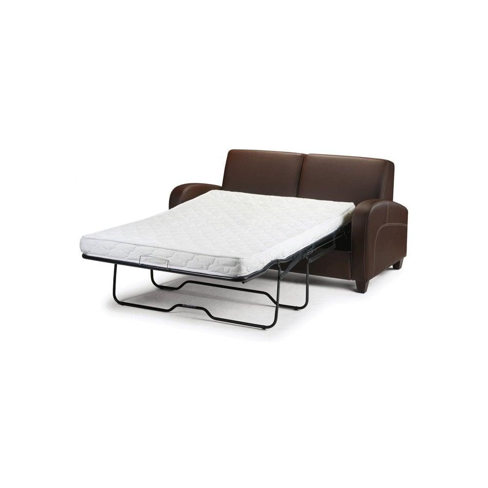 Fine Vivo Chestnut Faux Leather Sofa Bed Viv004 Lamtechconsult Wood Chair Design Ideas Lamtechconsultcom
