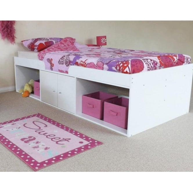 Kidsaw K0001 Arctic Low Sleeper Cabin Storage Bed