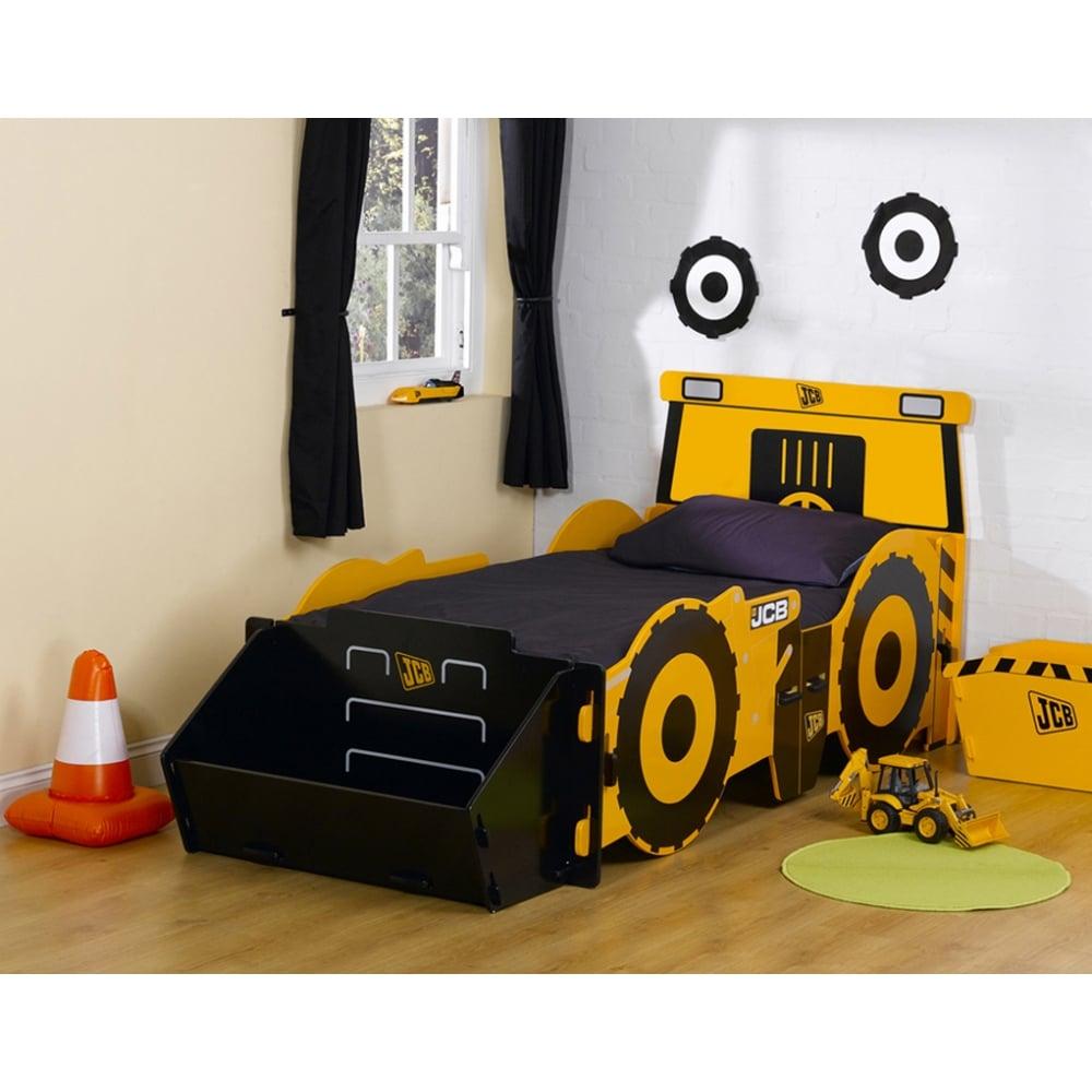 watch 72895 b5d0f Kidsaw JCB 3ft Single Bed