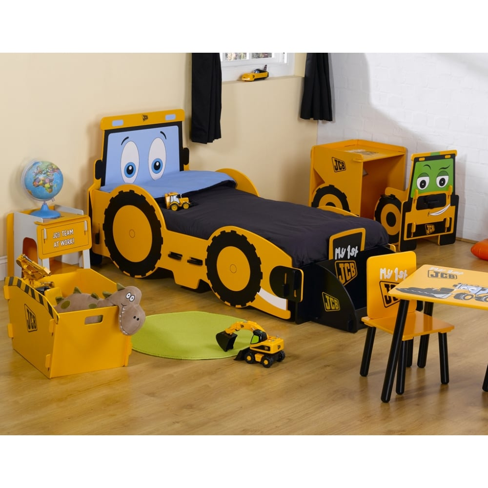 save off 8c356 6d151 Kidsaw My 1st JCB Junior Bed JCBJB