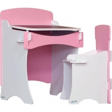 Kinder Desk & Chair Pink KDP