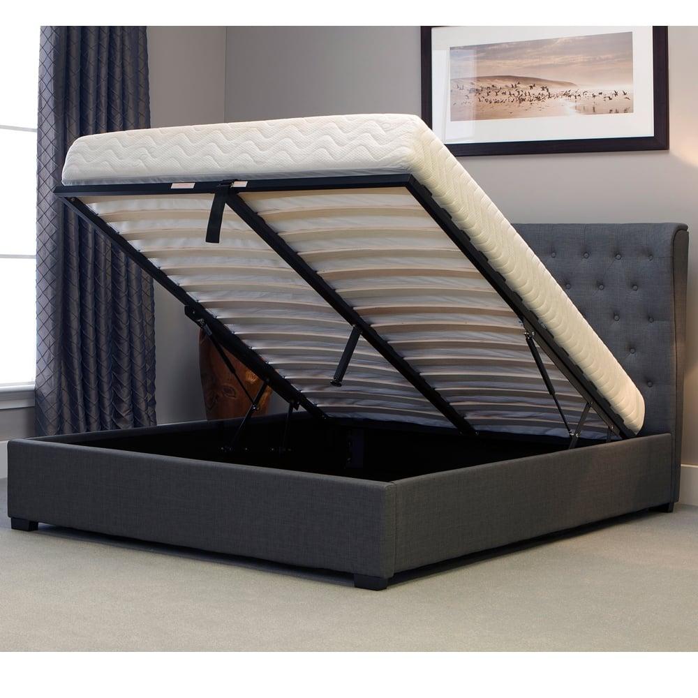 Discounted Emporia Beds Kngr60 Kensington 6ft Super King Size Grey