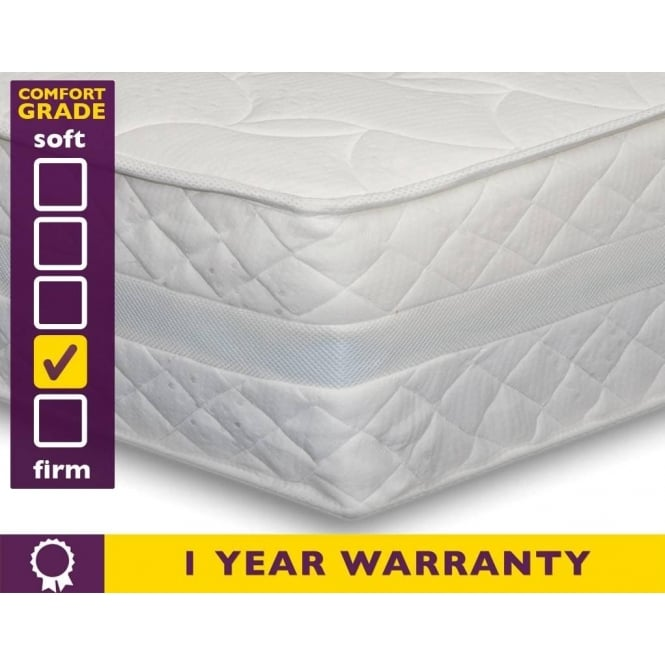 Slumber Sleep Luxury Pocket 1000 3ft Single Memory Foam Mattress