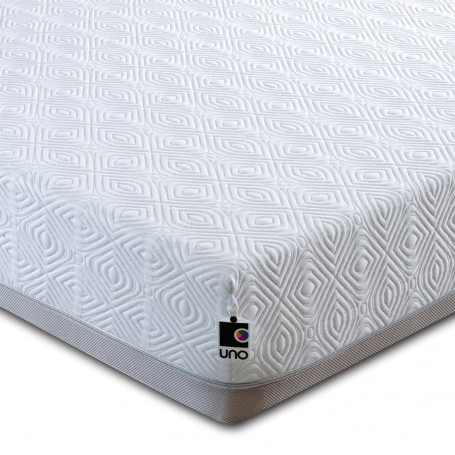 Breasley Uno Memory Pocket 2000 4ft6 Double Mattress with Adaptive plus Fresche Technology
