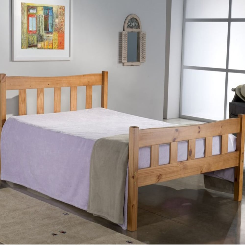 Birlea Miami Pine Wooden 4ft Small Double Bed MIAB4PIN