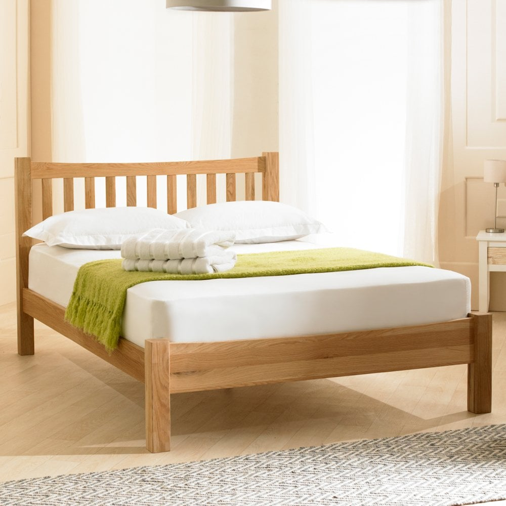 - Discounted Emporia Milan 6ft Super King Size Solid Oak Wooden Bed UK