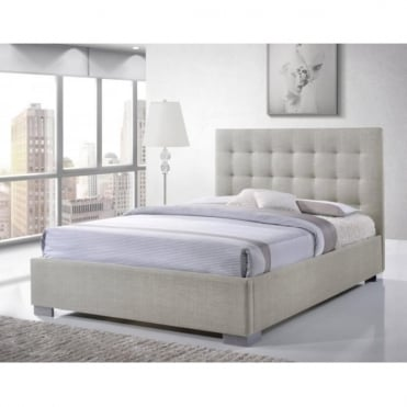 Nevada 4ft6 Double Sand Fabric Bed