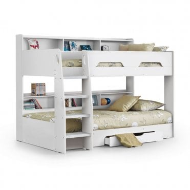 25724c4828d5 ORI002 Orion 3ft Single Pure White Bunk Bed