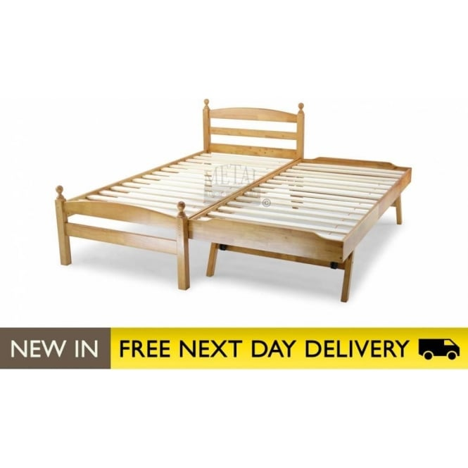 Metal Beds Ltd Palermo Maple 3ft Single Guest Bed