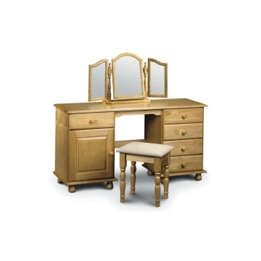 Pickwick Twin Pedestal Dressing Table