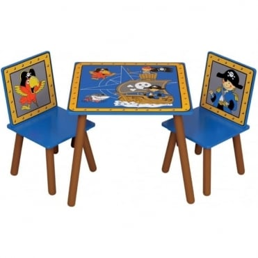 Pirate Table and 2 Chairs