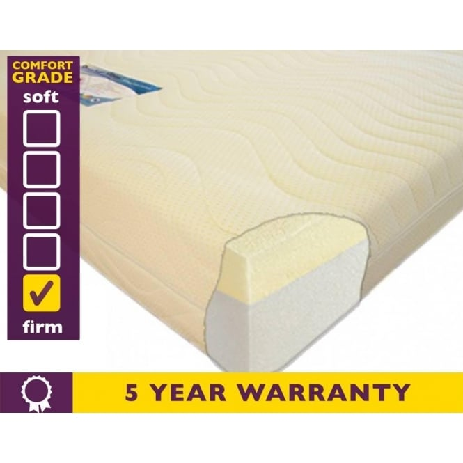 Slumber Sleep 3ft Single Premium 2000 Memory Foam Mattress