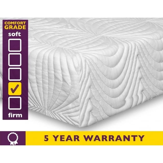 Slumber Sleep Cool 70 4ft Small Double Memory Foam Mattress