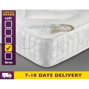 4ft Small Double Deluxe Semi Orthopedic Mattress