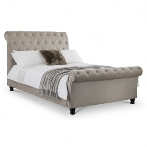 Julian Bowen Ravello Deep Button Scroll Double Bed