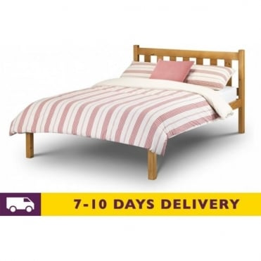 4ft6 Poppy Solid Pine Double Bed