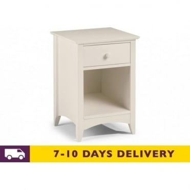 Cameo 1 Drawer Chest Bedside Cabinet