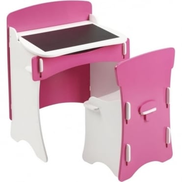 Blush Desk and Chair BLDC