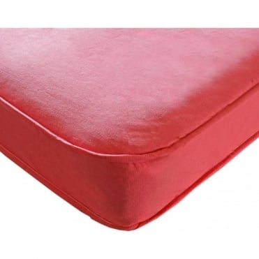 3ft Single Pink Sprung Mattress