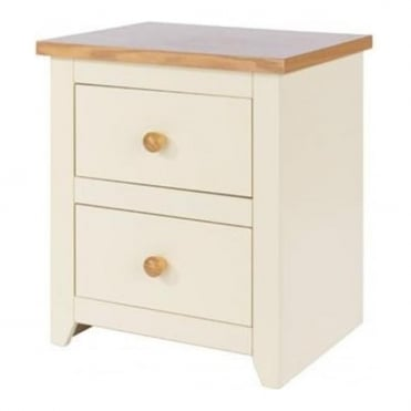 Jamestown 2 Drawer Bedside Cabinet JA310