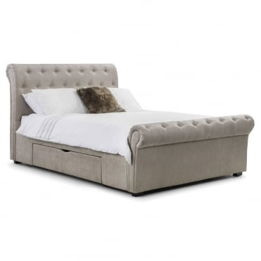 Ravello Storage King Size Bed with 2 Drawers