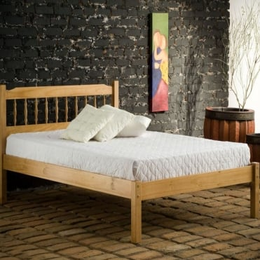 Santos 4ft Small Double Pine Bed