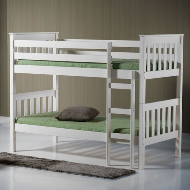 Birlea Beds Seattle Ivory Wooden Bunk Bed