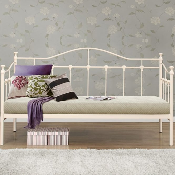 Birlea Beds Torino 3ft Single Cream Guest Bed