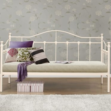 Torino 3ft Single Cream Guest Bed