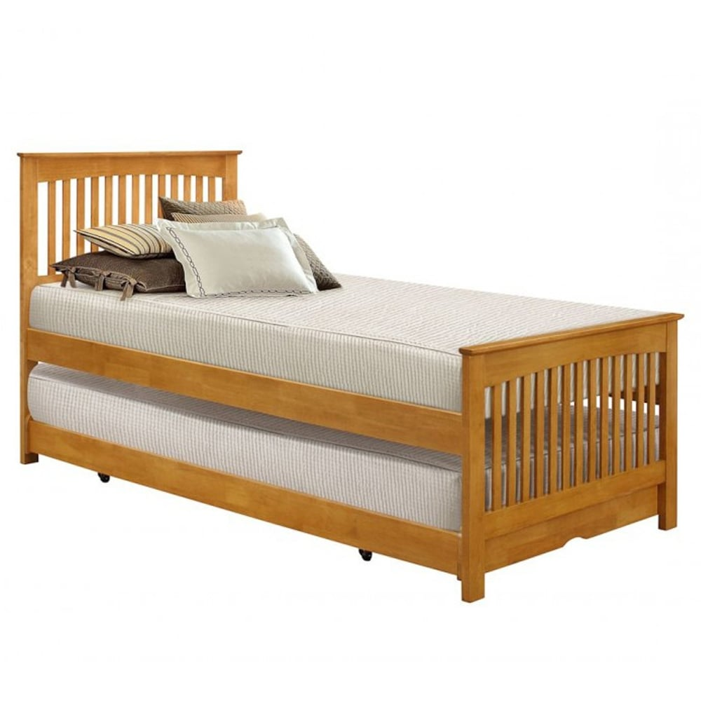 birlea toronto oak 3ft single guest bed torb3oak. Black Bedroom Furniture Sets. Home Design Ideas