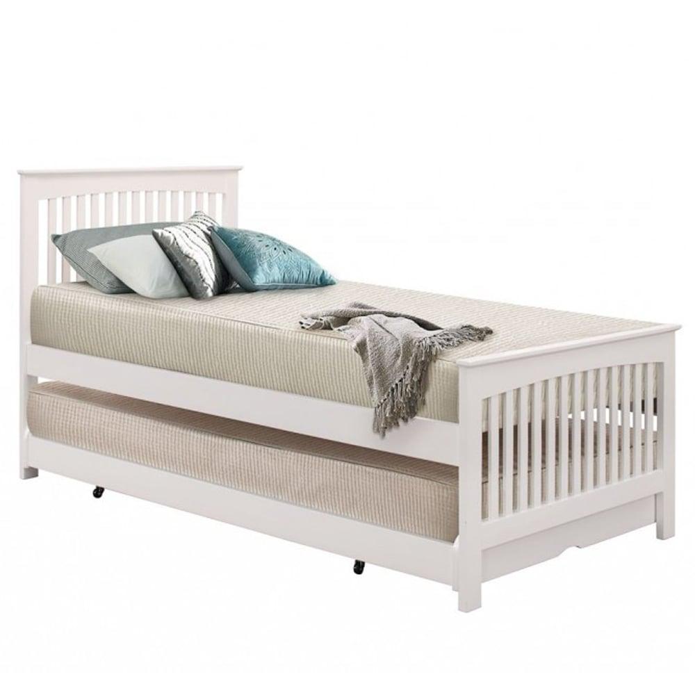 birlea toronto white 3ft single bed torb3wht. Black Bedroom Furniture Sets. Home Design Ideas