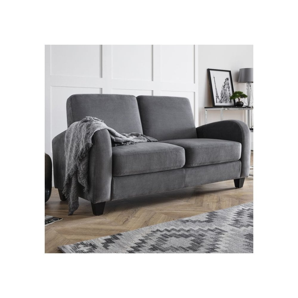 Vivo Chenille Dusk Grey Sofa Bed Viv104